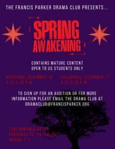 Spring Awakening Flyer